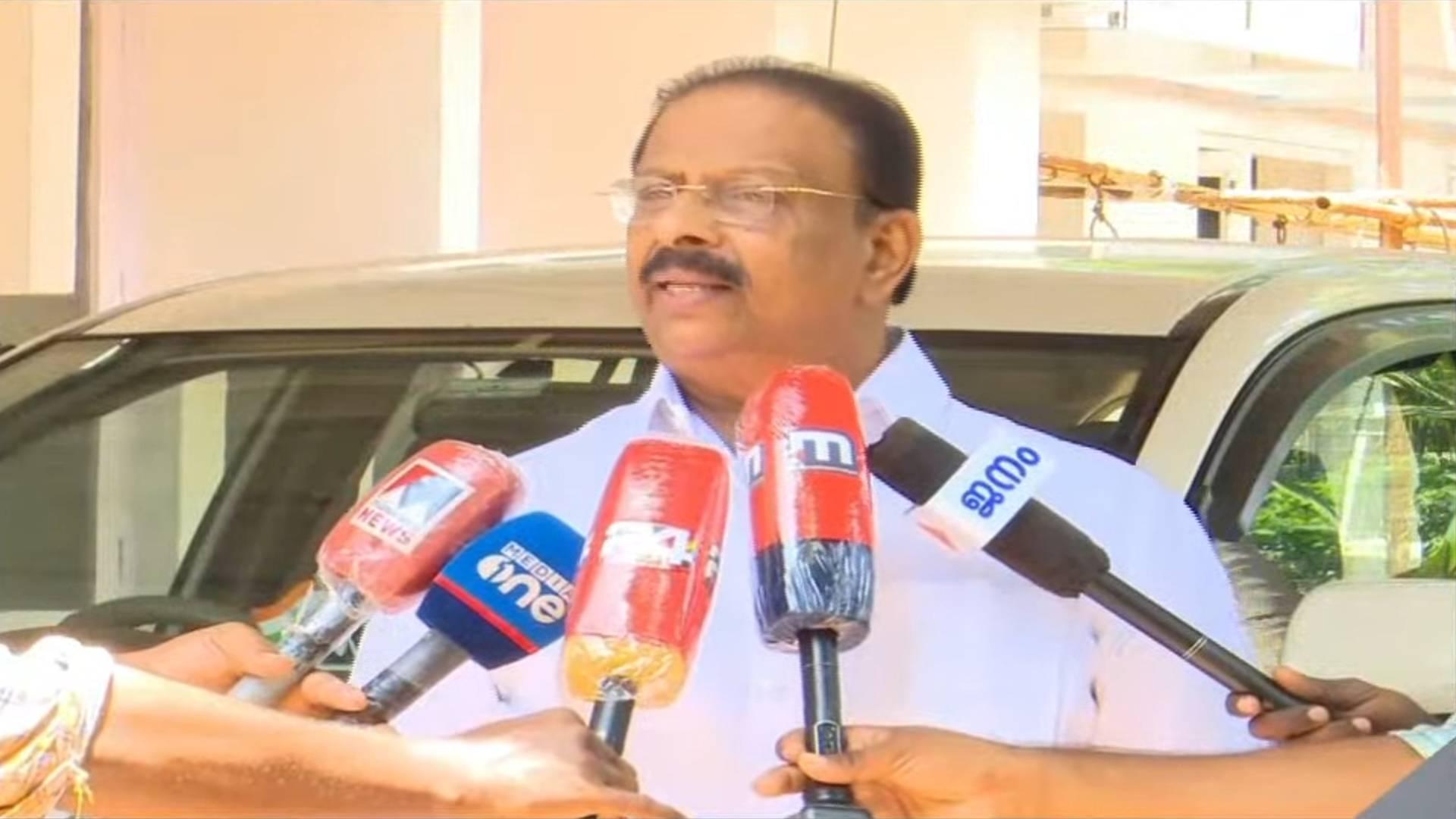K Sudhakaran against CPIM
