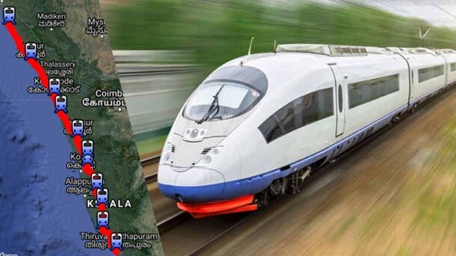 thiruvananthapuram kasaragod semi speed