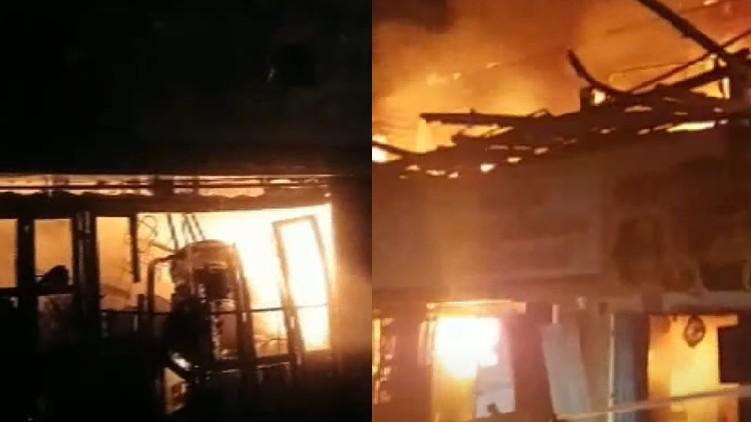 fire accident aattingal