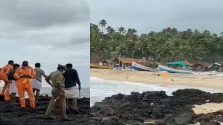 dead body found from sea