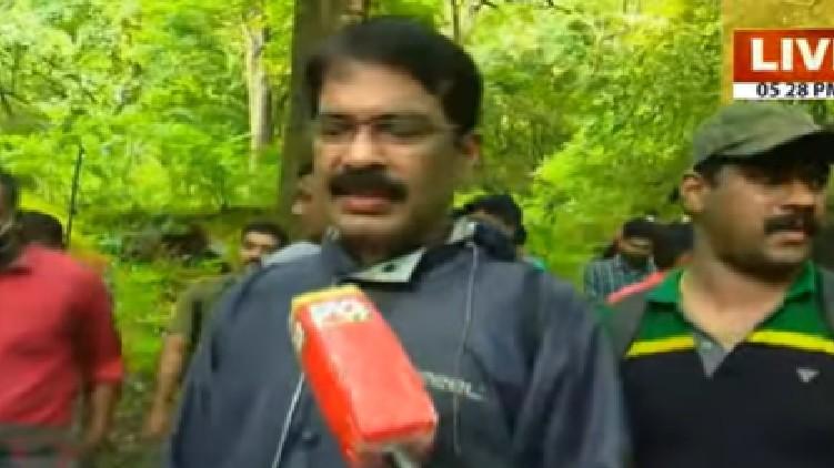 police officers returned forest