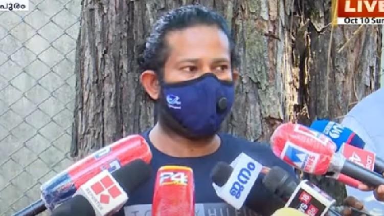 sandeep nair talks reporters