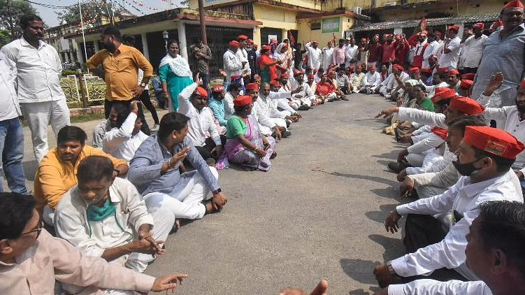 lakhimpur maharashtra strike today
