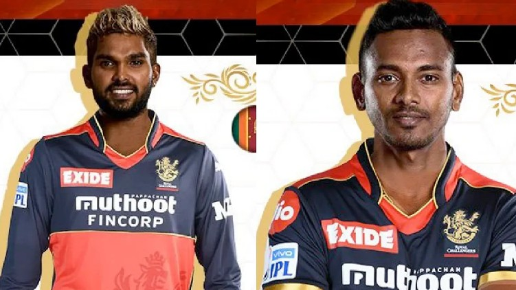 rcb released srilanka players