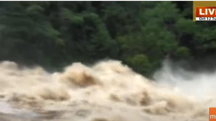 thrissur heavy rain chalakkudi