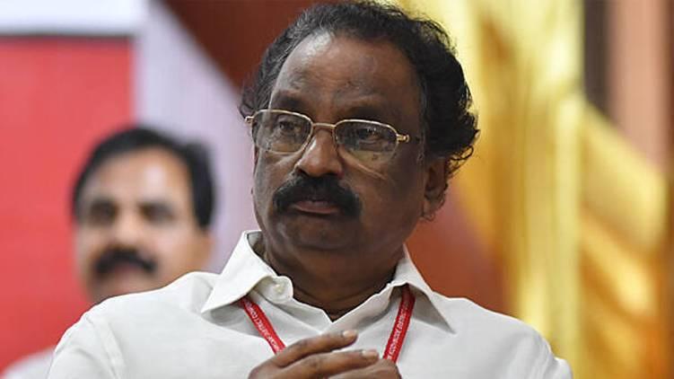 ak balan against congress bjp