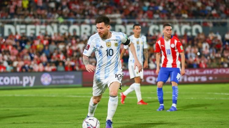 argentina paraguay match update