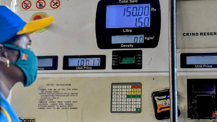 diesel price crossed 100